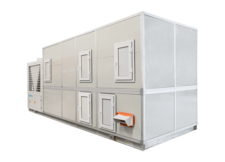 Rooftop Packaged Unit with Gas Burner